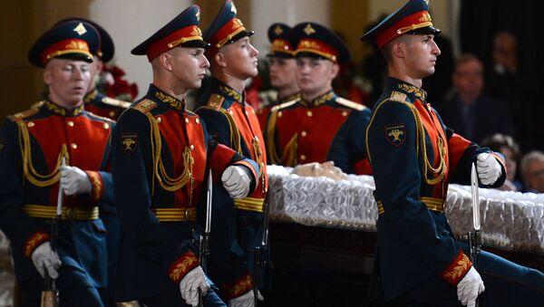 Último adiós a Primakov, ex primer ministro y excanciller de Rusia - Sputnik Mundo