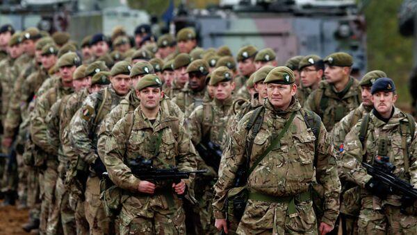 Soldados británicos - Sputnik Mundo