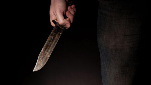 Criminal con cuchillo - Sputnik Mundo