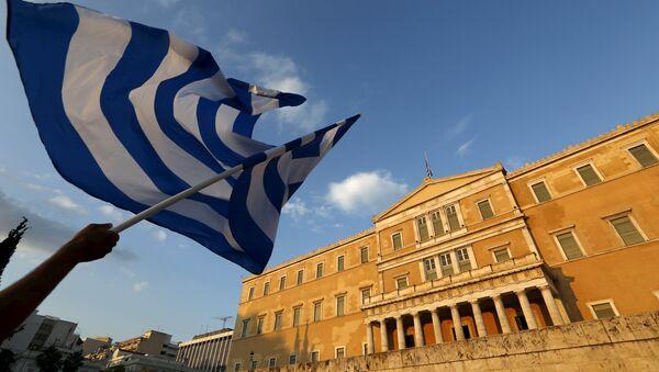 Parlamento de Grecia en Atenas - Sputnik Mundo