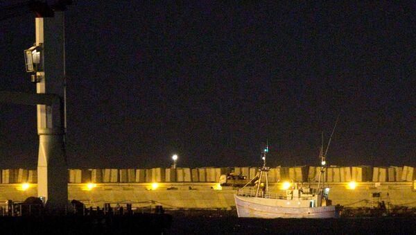 El barco Marianne de Gotemburgo en el puerto de Ashdod - Sputnik Mundo
