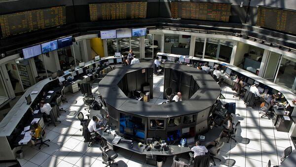La Bolsa Mexicana de Valores - Sputnik Mundo