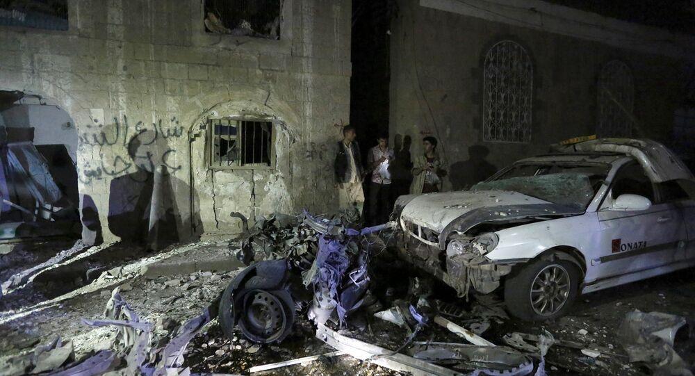 Después de un atentado cerca de hospital militar en Saná