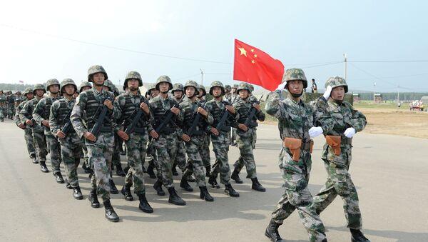 Ejercicios ruso-chinos Misión de Paz (archivo) - Sputnik Mundo
