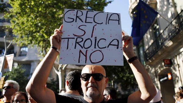Manifestación en España - Sputnik Mundo