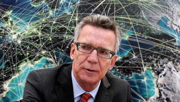 Thomas de Maizière, ministro del Interior de Alemania - Sputnik Mundo