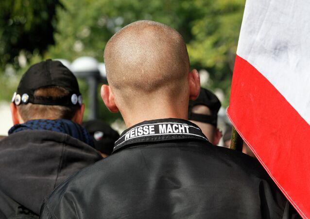 Un neonazi alemán (Archivo)