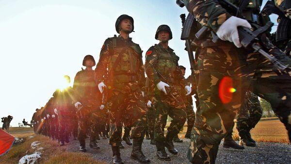 Soldados del Ejército Popular de Liberación de China - Sputnik Mundo