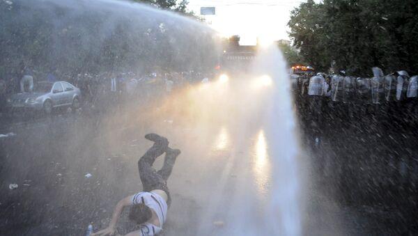 Manifestantes en Armenia (Archivo) - Sputnik Mundo