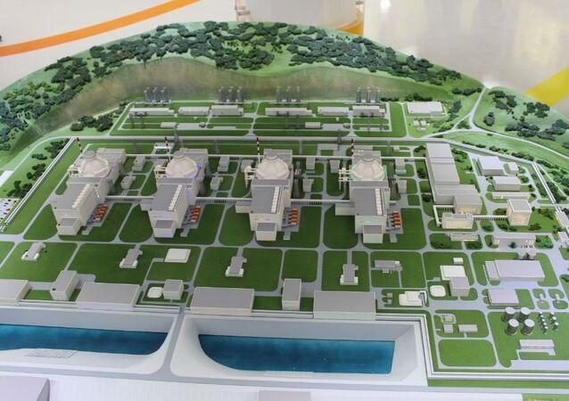 Proyecto de la central nuclear de Akkuyu en Turquía