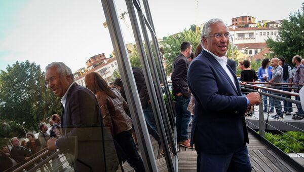 António Costa, líder del Partido Socialista de Portugal - Sputnik Mundo