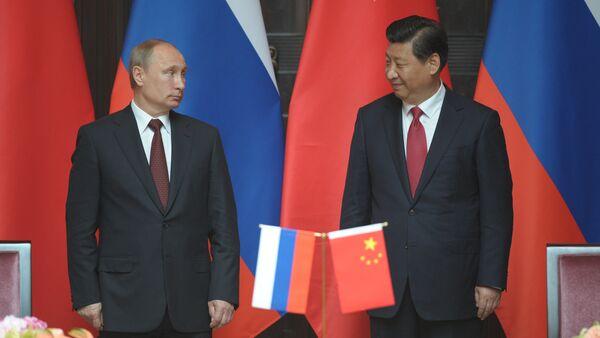 Presidente de Rusia Vladímir Putin y Presidente de China Xi Jinping  (Archivo) - Sputnik Mundo