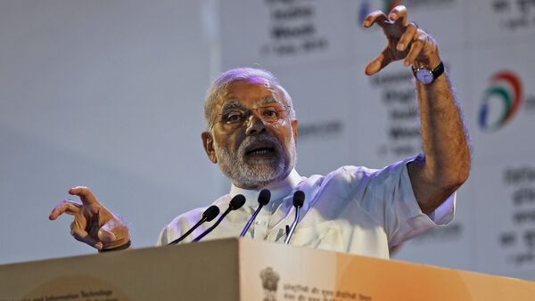 Narendra Modi, primer ministro de India - Sputnik Mundo