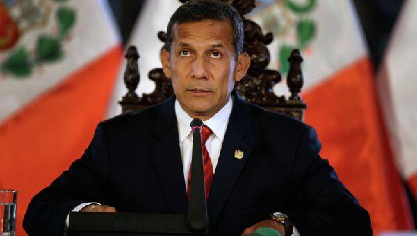Ollanta Humala, presidente de Perú - Sputnik Mundo