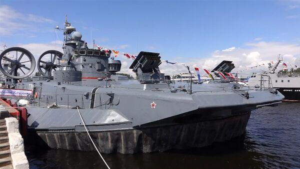 Abre el Salón Naval de San Petersburgo - Sputnik Mundo