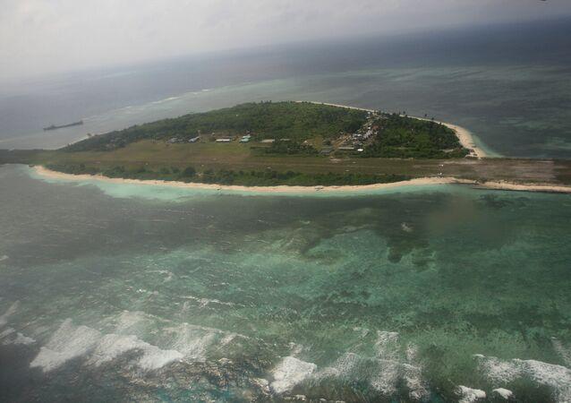 Thitu, isla de archipiélago Spartly