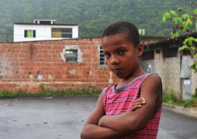 Niño brasileño