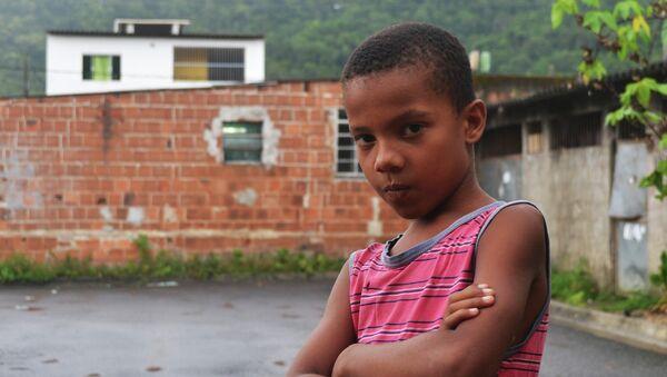 Niño brasileño - Sputnik Mundo