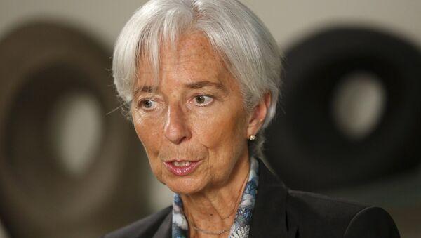 Christine Lagarde, directora del Fondo Monetario Internacional (FMI), el 1 de julio, 2015 - Sputnik Mundo
