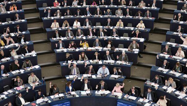 Miembros del Parlamento Europeo - Sputnik Mundo