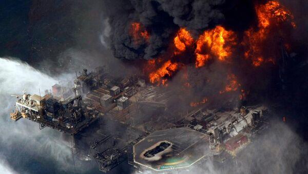 Derrame en el Golfo de México (archivo de 2010) - Sputnik Mundo