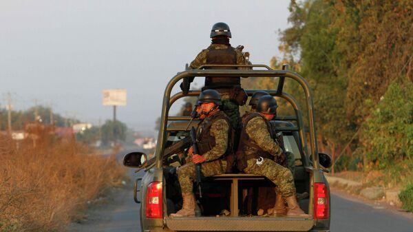 Soldados del ejército mexicano - Sputnik Mundo