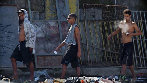 Adolescentes en Río de Janeiro - Sputnik Mundo