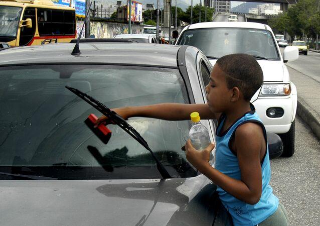 Trabajo infantil (imagen referencial)