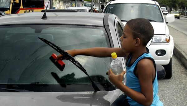 Trabajo infantil (imagen referencial) - Sputnik Mundo