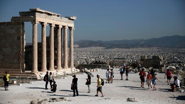 Templo Erecteion en la Acrópolis de Atenas - Sputnik Mundo