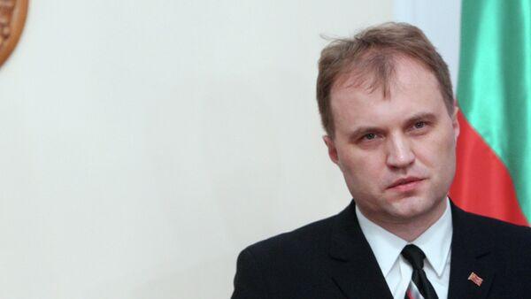 Evgueni Shevchuk, líder de Transnistria - Sputnik Mundo