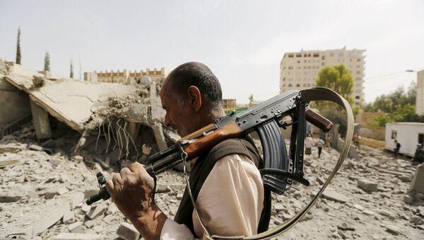 Guardia en Saná, Yemen, el 15 de junio, 2015 - Sputnik Mundo