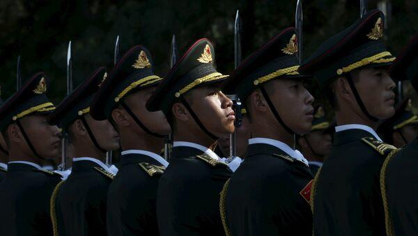 La guardia de honor del Ejército de Liberación Popular (ELP) - Sputnik Mundo