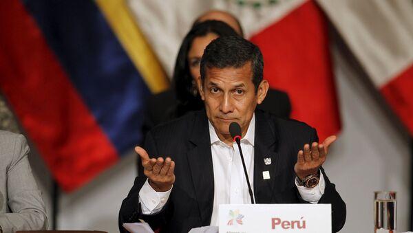 Ollanta Humala, expresidente de Perú (archivo) - Sputnik Mundo