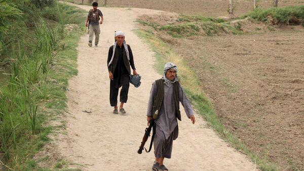 Policía local de Afganistán (Archivo) - Sputnik Mundo