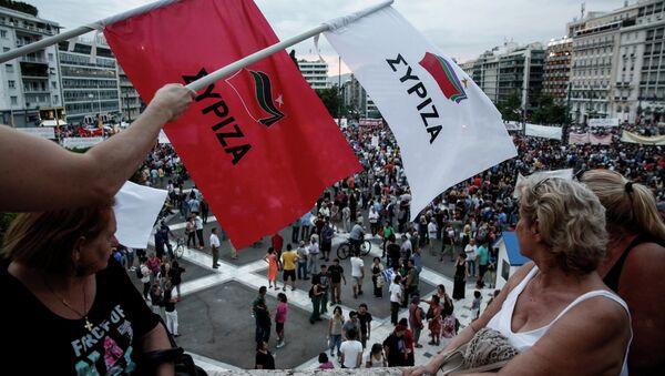 La minoría radical de Syriza podría formar un nuevo partido - Sputnik Mundo