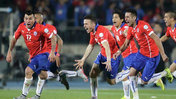 La selección de Chile gana la final de la Copa América - Sputnik Mundo