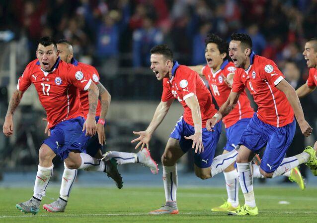 La selección de Chile gana la final de la Copa América