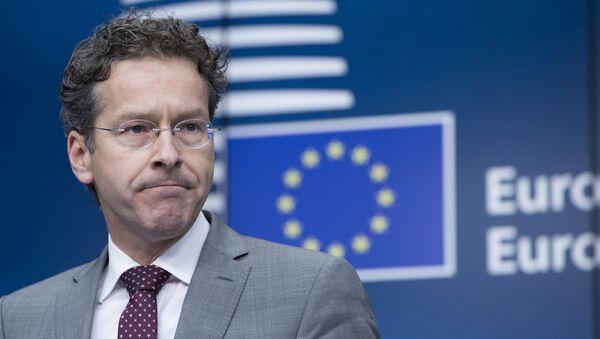 El presidente del Eurogrupo, Jeroen Dijsselbloem - Sputnik Mundo
