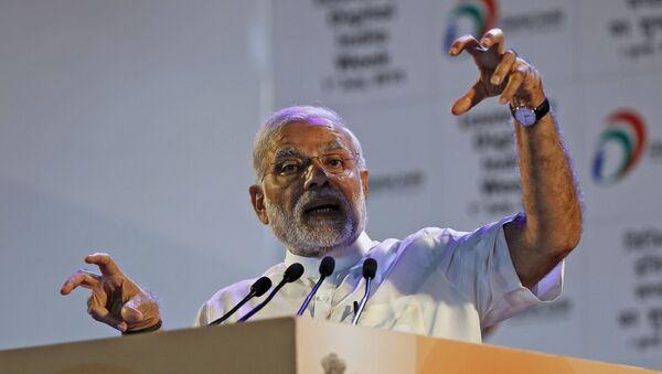 Narendra Modi, primer ministro de la India - Sputnik Mundo