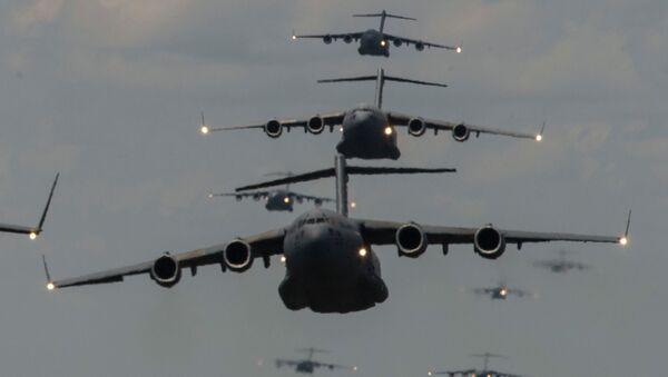 Aviones militares de EEUU - Sputnik Mundo