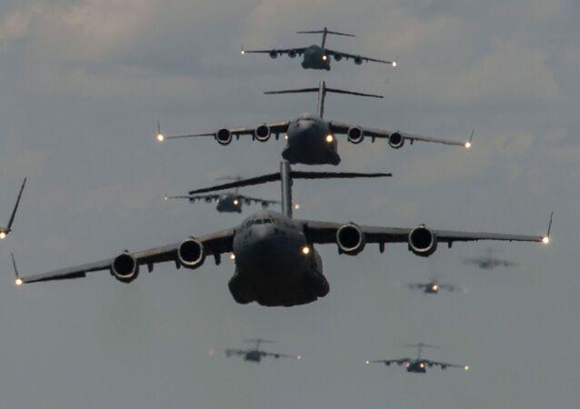 Aviones militares de EEUU