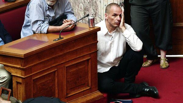 Yanis Varufakis, ministro de Finanzas de Grecia - Sputnik Mundo