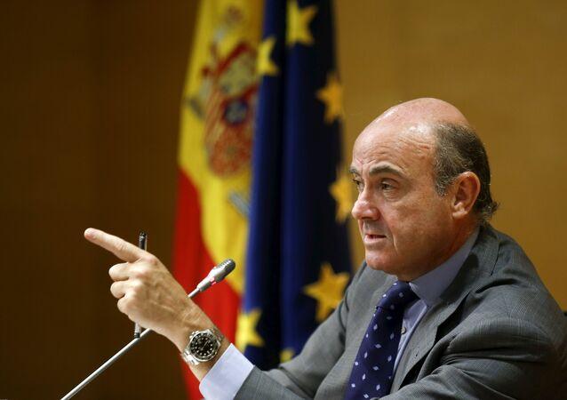 Luis de Guindos, exministro español de Economía
