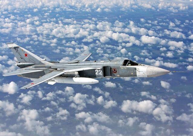 Bombardero Su-24M
