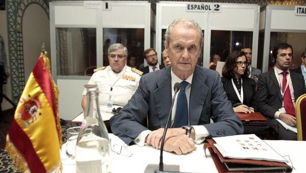 Pedro Morenés, ministro español de Defensa - Sputnik Mundo