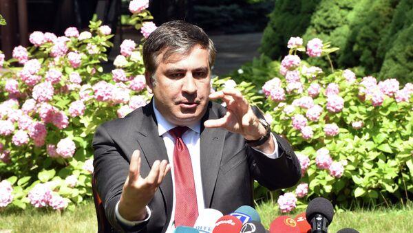 Mijaíl Saakashvili, gobernador de la región de Odesa - Sputnik Mundo