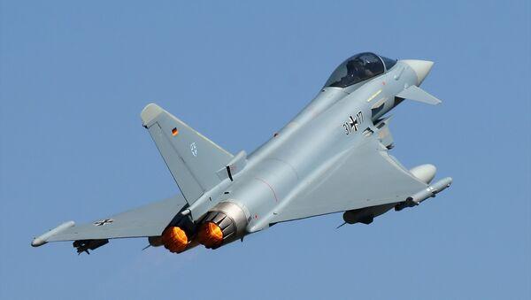 Caza Eurofighter Typhoon de la Fuerza Aérea de Alemania - Sputnik Mundo