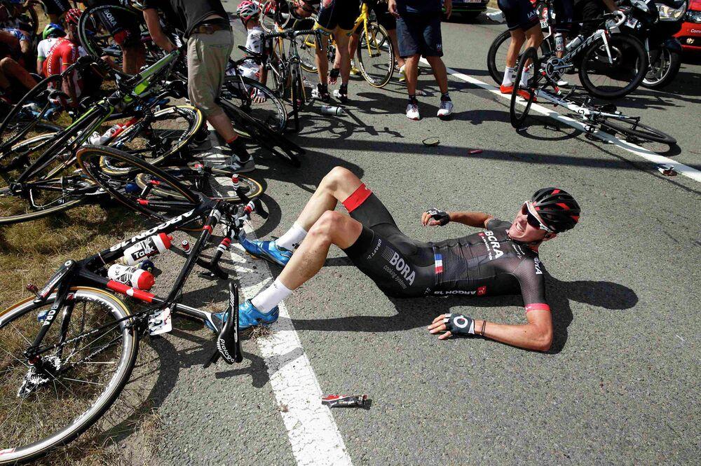 El ciclista alemán Dominik Nerz