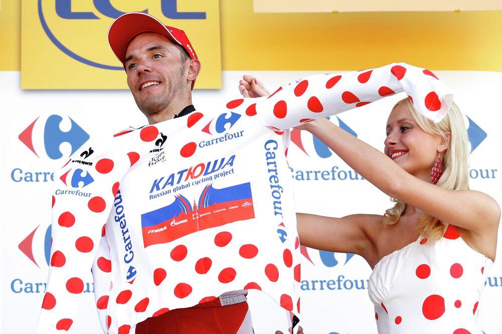 Joaquim Rodriguez, ganador de la tercera etapa del Tour de Francia